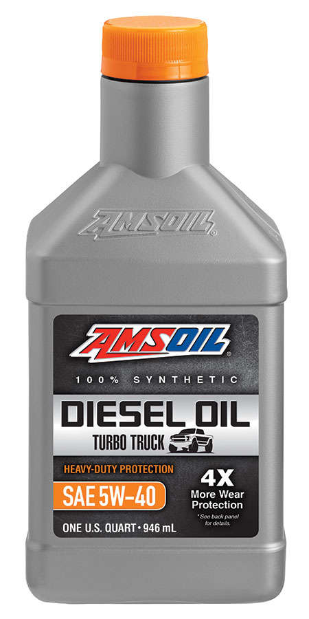 Amsoil heavy duty synthetic ck 4 diesel oil 5w 40 ado for Motor oil api rating