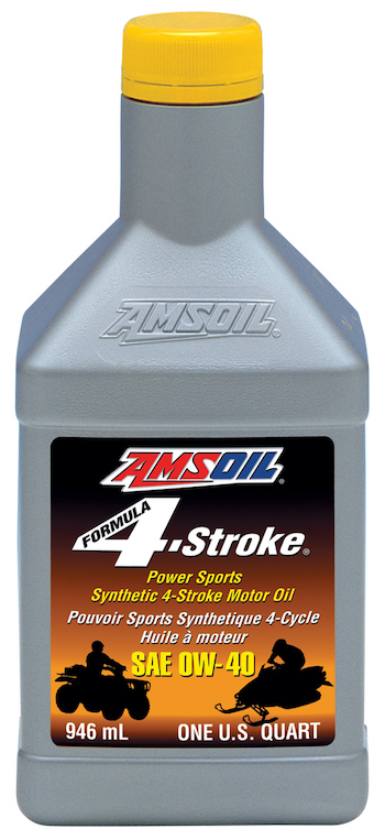 0W-40 Formula 4-Stroke PowerSports Synthetic Motor Oil (AFF) 0W40