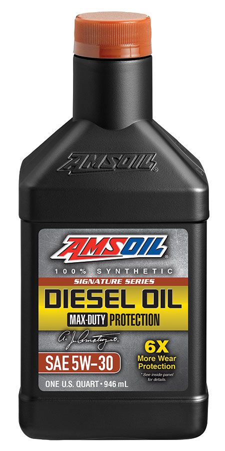 Amsoil signature series max duty synthetic ck 4 diesel oil for Amsoil 5w30 signature series 100 synthetic motor oil