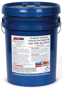 Synthetic Vehicular Natural Gas Engine Oil SAE 15W-40 (ANGV)